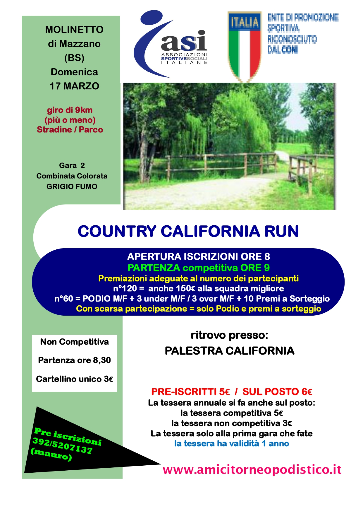 country california run 2019 volantino